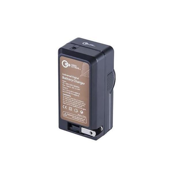 カメラ 写真 フォトアクセサリー 充電器 クレードル Green Extreme Compact Smart Charger with LCD Screen for Nikon EN EL11
