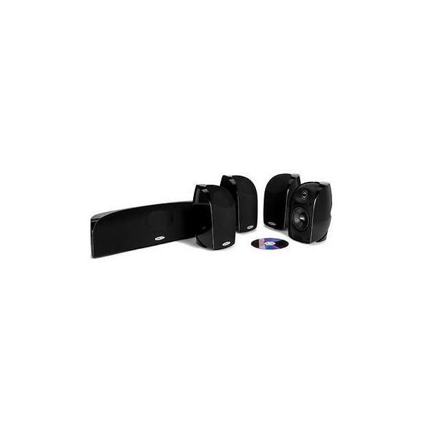 オーディオ ホームスピーカー サブウーファー Polk Audio TL350 Home Theater Audio System #TL 350 5-PACK