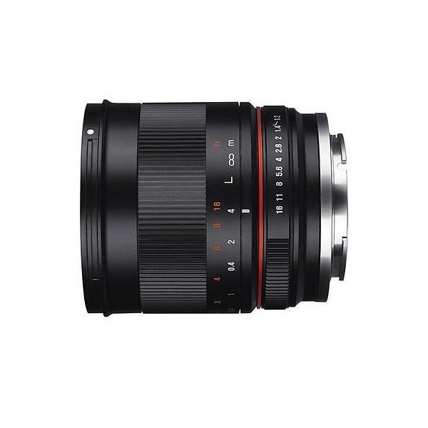 カメラ 写真 レンズ フィルター レンズRokinon 50mm f/1.2 Manual Focus Lens for Canon EOS M Series Cameras - Black