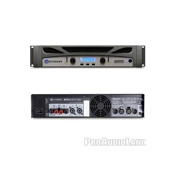 楽器 アンプ クラウン Crown DBX Hosa XT6002 XTI4002 Driverack PA2 DJ PA Amplification System