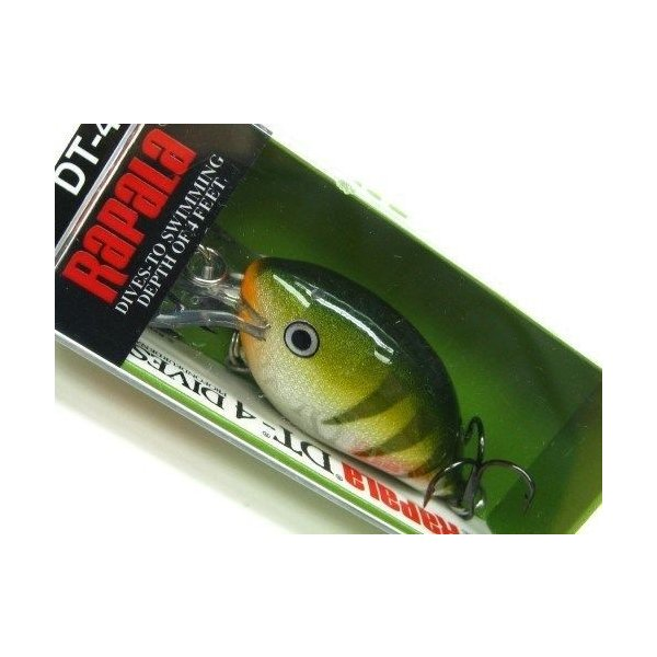 "Rapala Dives To 6 /""Yellow Perch/"""