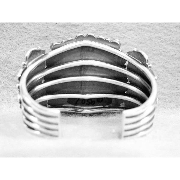 ブレスレット 海外セレクション Navajo Kirk Smith ブレスレット ターコイズ Spiny スターリング シルバー SM Wrist RIP 2012
