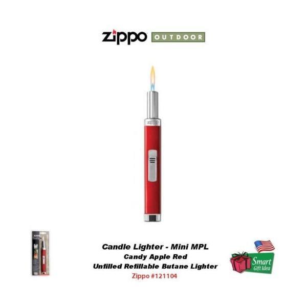 ジッポライター ジッポ - アウトドア Zippo Candy Apple レッド キャンドル ライターミニ MPLUnfilled マルチ-Purpose #121104|pandastore