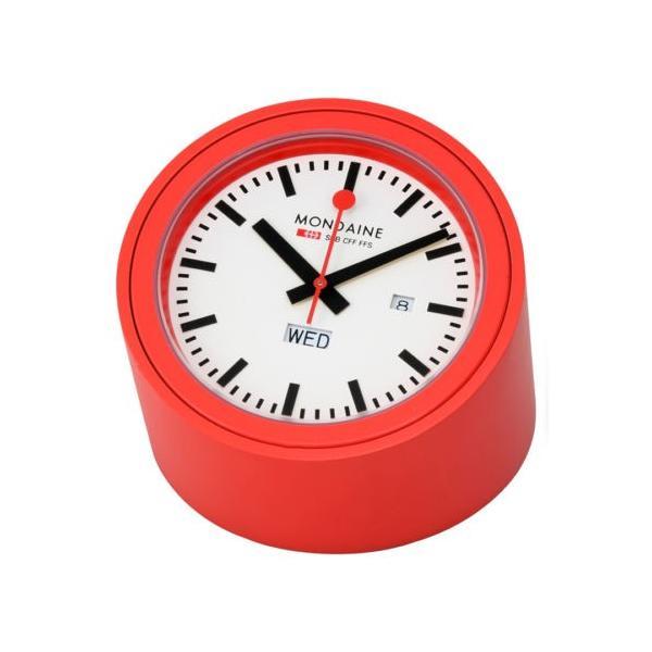 時計 置時計 インテリア  モンディーン Mondaine Railways Desk 時計 A667.TUBE.30SBB
