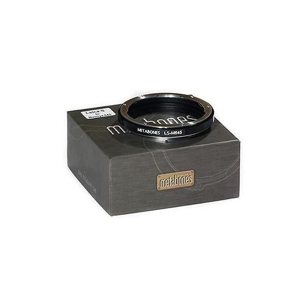 カメラ 写真 レンズ フィルター レンズアダプタ マウント チューブ Metabones Mamiya 645 Lens to Leica S Camera Lens Mount Adapter #MB_M645-LS-BM1