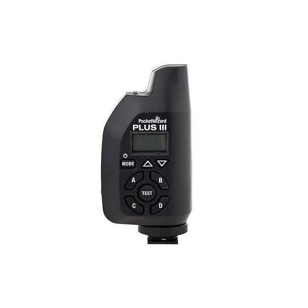 カメラ 写真 ストロボ フラッシュ アクセサリ 消耗品PocketWizard Plus III Transceiver Black #801 130
