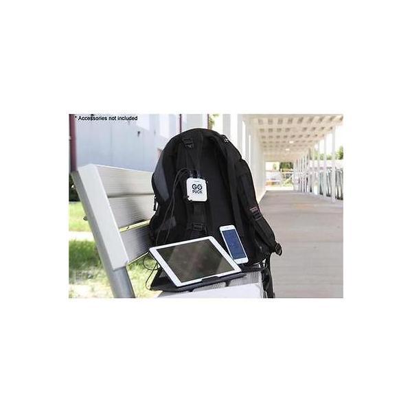 カメラ 写真 フォトアクセサリー 充電器 クレードルGO PUCK 5X 6600mAh Ultra Lightweight Charger White Black #GP GO5212BV2