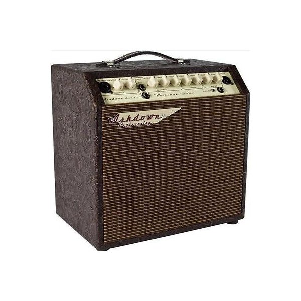 "楽器 ギア プロオーディオ機器 アンプAshdown Woodsman Classic 1x8"" 40W 2-Channel 40W Acoustic Guitar Amplifier"