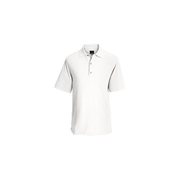 Greg Norman Mens Protek Heathered Micro Pique Polo