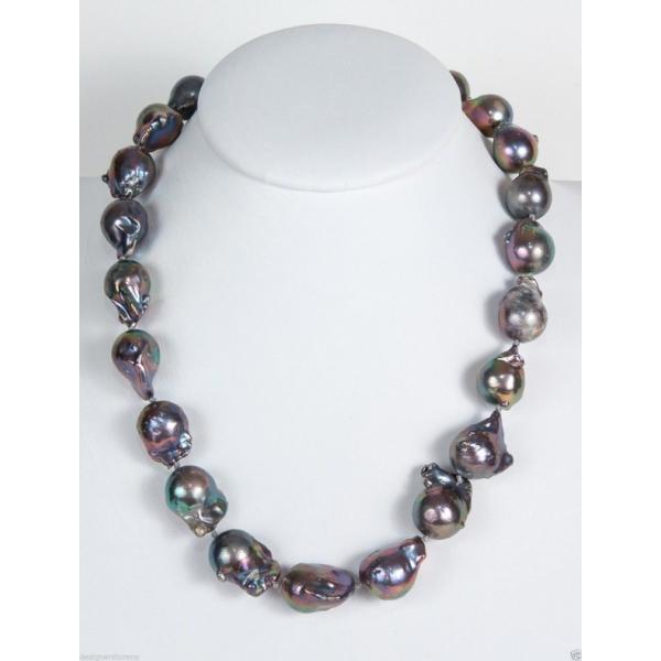 パール メットインジーンズ Simon Sebbag Sterling Silver Pendant Black Pearl Necklace NB485/EBP