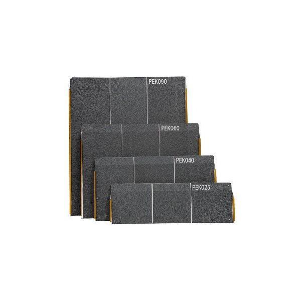 イーストアイ ポータブルスロープエッジ付1枚板タイプPEK090 90cmタイプ
