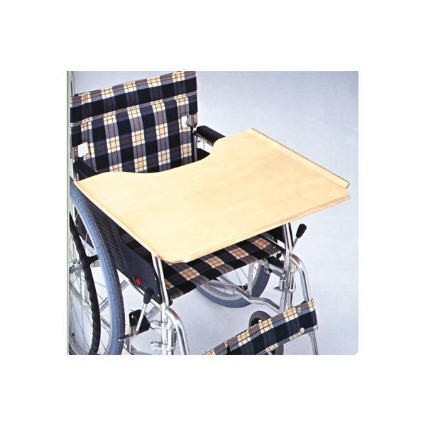 車椅子用テーブル 前後式 樹脂タイプ 松永製作所