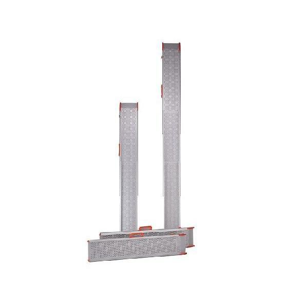 ポータブルスロープ スライドスロープ 長さ211cm ESK200R 2本1組 イーストアイ