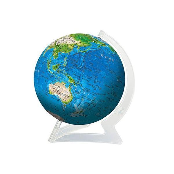 自分で組み立てる地球儀パズル 3D球体パズル ブルーアース2-地球儀- 240ピース 2024-121 やのまん