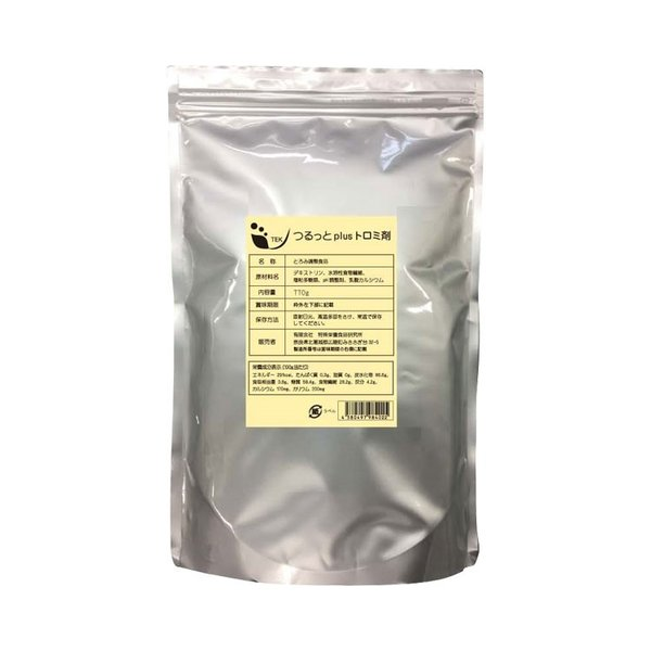 とろみ調整剤 つるっとplusトロミ剤 770g オプティピュア・ジャパン<br>トロミ剤 とろみ剤 介護食 嚥下 高齢者