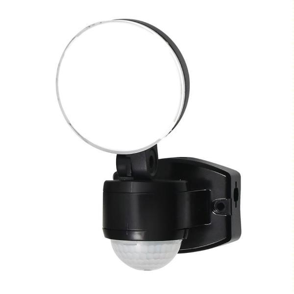 l返品不可lELPA(エルパ) 屋外用LEDセンサーライト AC100V電源(コンセント式) ESL-SS411AC