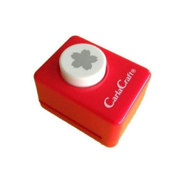 l返品不可lCarla Craft(カーラクラフト) クラフトパンチ(小) サクラM/桜 CP-1 4100680