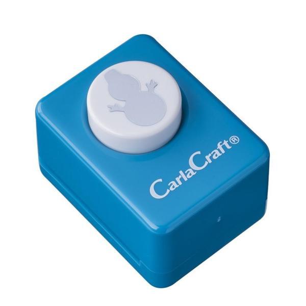 l返品不可lCarla Craft(カーラクラフト) クラフトパンチ(小) ゆきだるま CP-1N 4100748