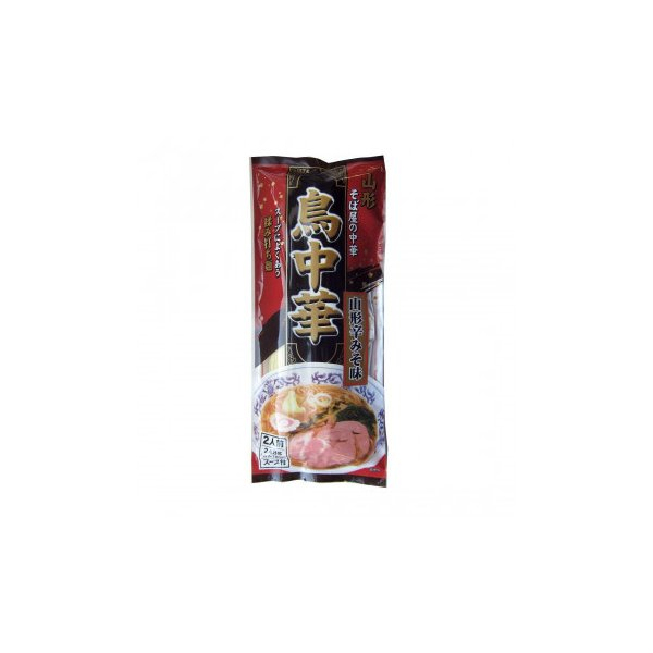 l返品不可l代引不可lみうら食品 鳥中華 山形辛みそ味 248g(麺180g)×20袋