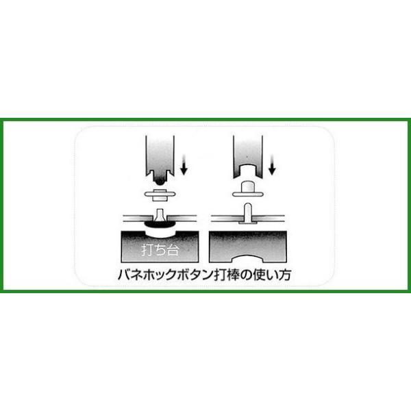 全国送料無料 誠和(SEIWA/セイワ) レザークラフト バネホックボタン打棒セット (プリム) b03 panfamcom 02