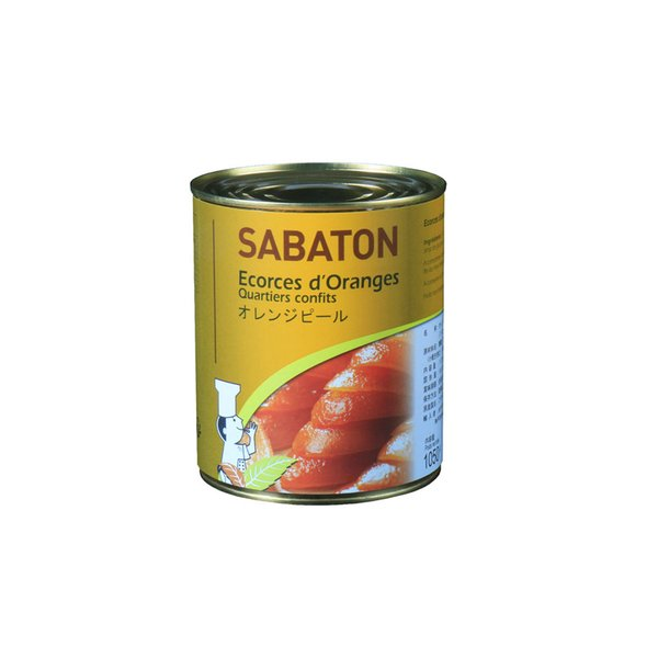 サバトン オレンジピール 1050g 製菓 製パン トッピング デコレーション 缶詰 シロップ漬 オレンジ 果皮 業務用