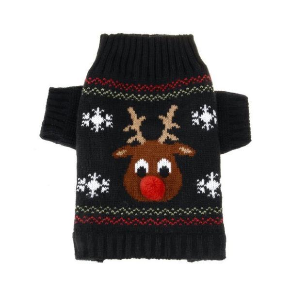 Panni 犬の服 クリスマス トナカイ セーター 秋冬服 ドッグウェア 4サイズ選択可能 panni123 03