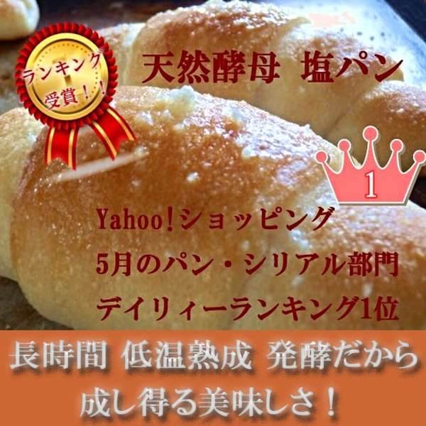 天然酵母 塩パン 10個 セット!|pannomorikurara|03