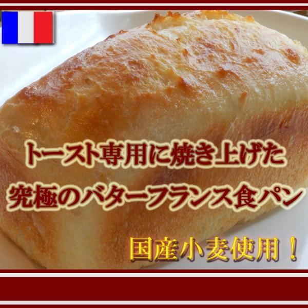 国産小麦 究極 の ザクザク 食感 天然酵母 フランス 食パン|pannomorikurara
