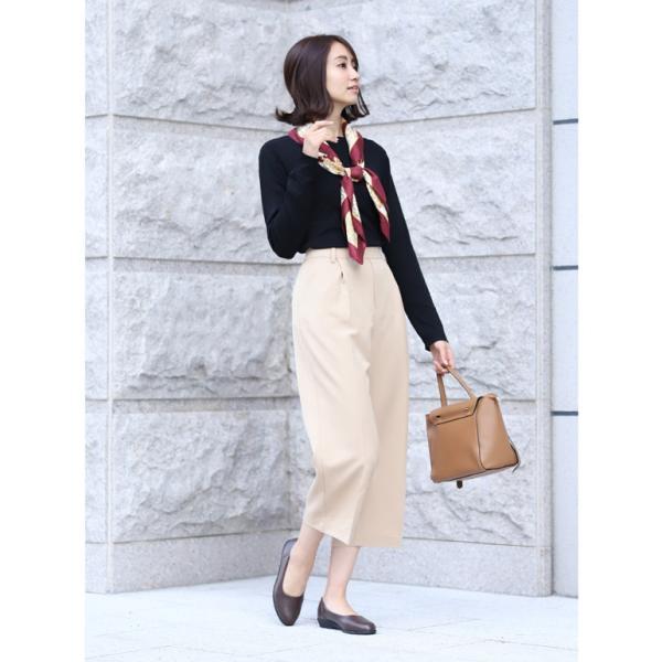 パンプス レディース 疲れにくい 冠婚葬祭 軽い フラット 日本製 靴 3E パンジー pansy 4060|pansystore|06