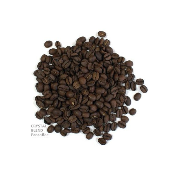 コーヒー豆・クリスタルブレンド(200g)自家焙煎珈琲豆