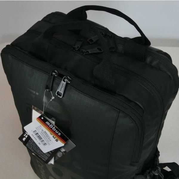 MBDF511 mobus モーブス Dパックリュック 黒×黒 ☆7239 8,900円 スクエア ブラック/ブラック ビジネス アウトドア|paostore|10