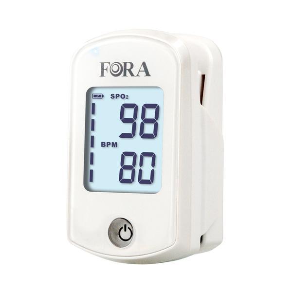 医療機器 パルスオキシメーター フォラケア ジャパン ホワイト PO200 酸素濃度計 血液中の酸素飽和度を測定 重症化 コロナ 血中酸素測定器 パルスオキシメータ