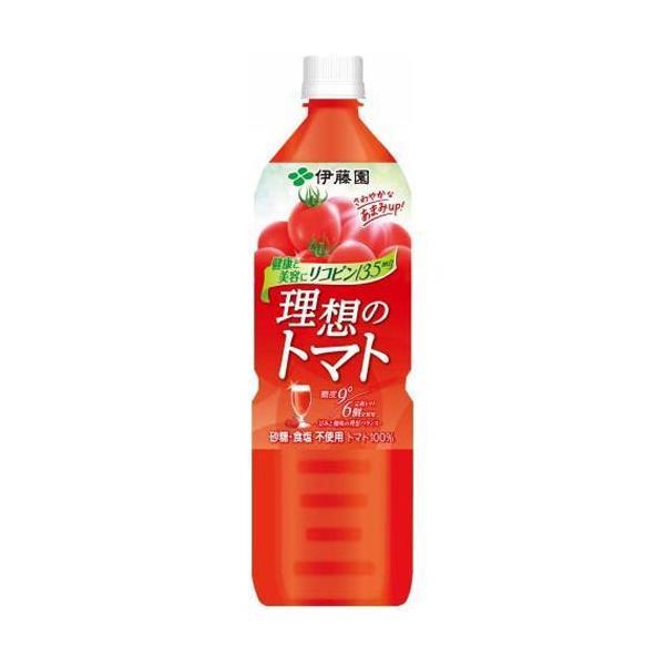 伊藤園の高級トマトジュース NEW理想のトマト 900g 12本 トマトリコピン
