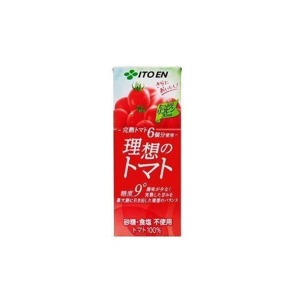 理想のトマト 200ml 24本 伊藤園の高級トマトジュース 野菜