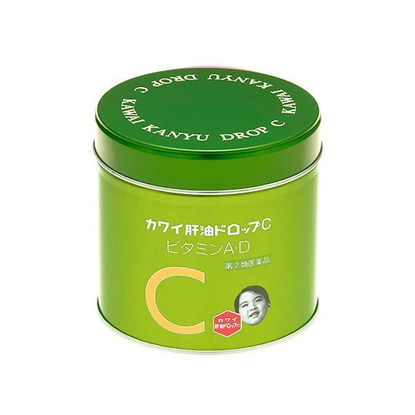 【指定第2類医薬品】カワイ肝油ドロップC 150粒 河合製薬 papamama