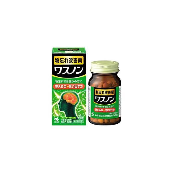 【第3類医薬品】ワスノン 168錠 物忘れ改善薬 小林製薬 papamama