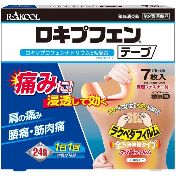 ロキプフェンテープ7枚入り外用薬シップ 第2類医薬品 15歳以上ロキソプロフェン 税制対象商品 ロキソニンテープロキソニンテープ