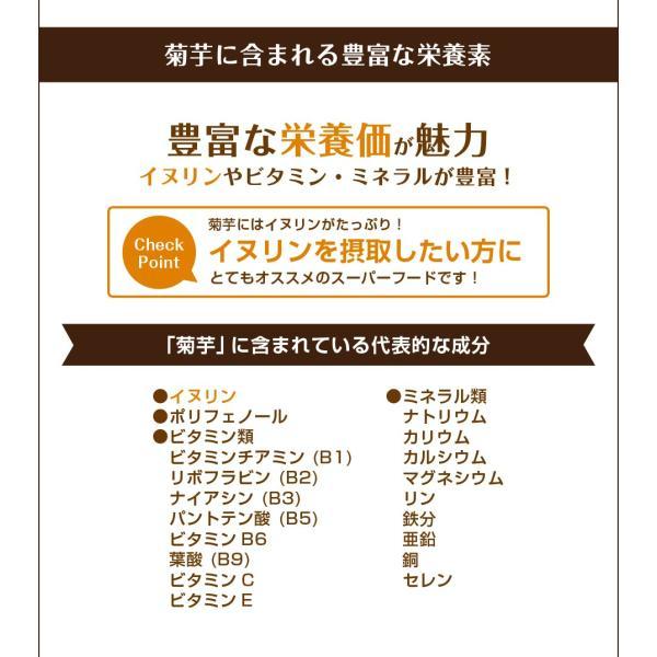 キクイモ 菊芋 岡山県産 菊芋パウダーEX 90g (イヌリンが豊富)  メール便 国産|papamama|03