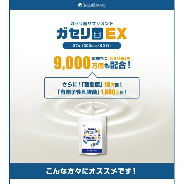 ガセリ菌と乳酸菌 酪酸菌のサプリメント  『ガセリ菌 EX 90粒 メール便』 1000円ポッキリ papamama