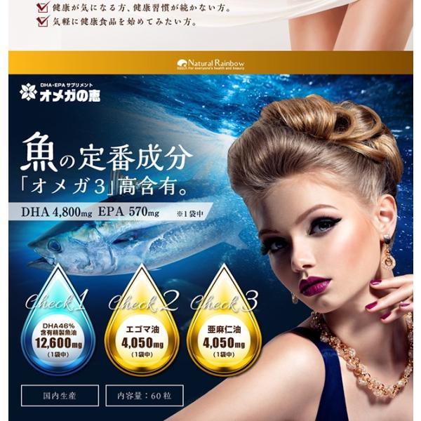 オメガ3 DHA EPA セサミンのサプリ GLP1 glp-1 『オメガの恵 60カプセル メール便』  青魚 亜麻仁油 エゴマ油 サプリメント 1000円ポッキリ|papamama|11