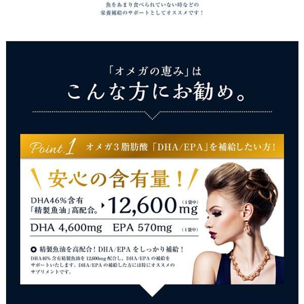 オメガ3 DHA EPA セサミンのサプリ GLP1 glp-1 『オメガの恵 60カプセル メール便』  青魚 亜麻仁油 エゴマ油 サプリメント 1000円ポッキリ|papamama|09