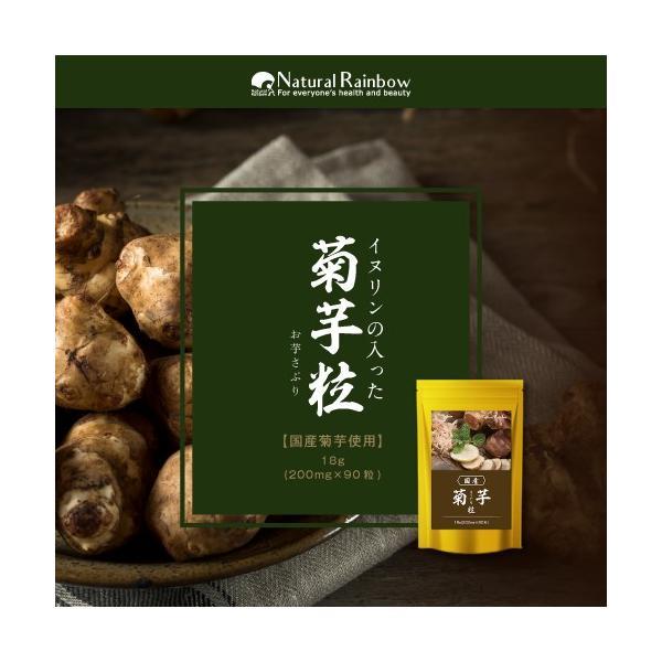 菊芋粒 90粒 国産 サプリメント メール便 papamama