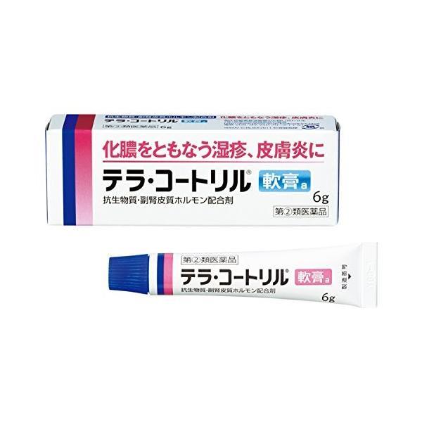 テラ・コートリル軟膏a6gメール便 指定第2類医薬品 メール便テラコートリル