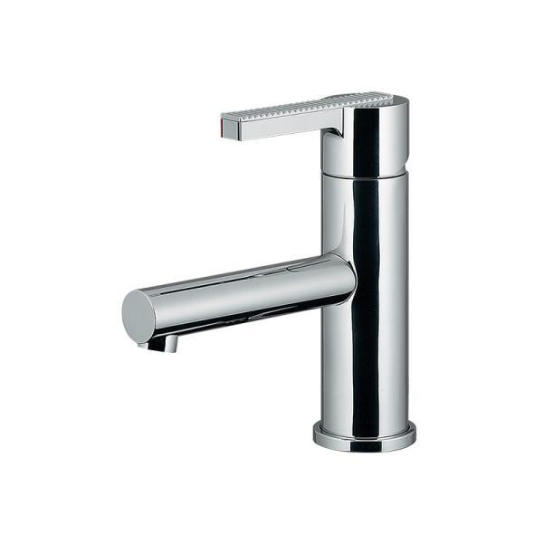 混合栓洗面所蛇口デザイン水栓RENシングルレバー混合水栓給湯制限