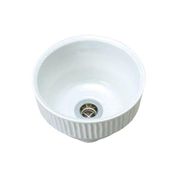 手洗器手洗い鉢小型エッセンスピエニ白土しろつち