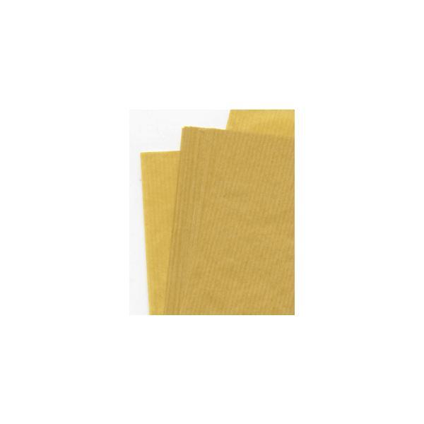 ラッピング用品 包装紙 薄い 筋入クラフト紙34.5k半才200枚