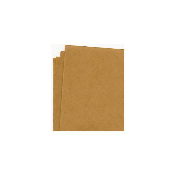 ラッピング用品 包装紙 厚過ぎるくらい クラフト紙108k半才100枚