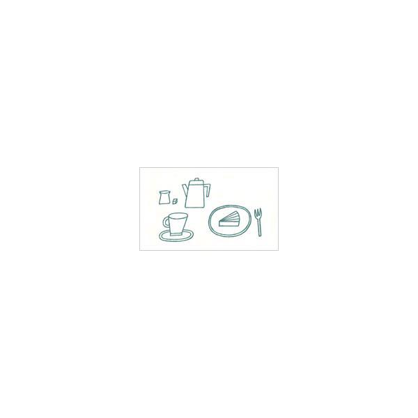 活版ミニメッセージカード ノラヤ カフェ 100枚 (送料無料) 印刷紙 印刷用紙 松本洋紙店 敬老の日