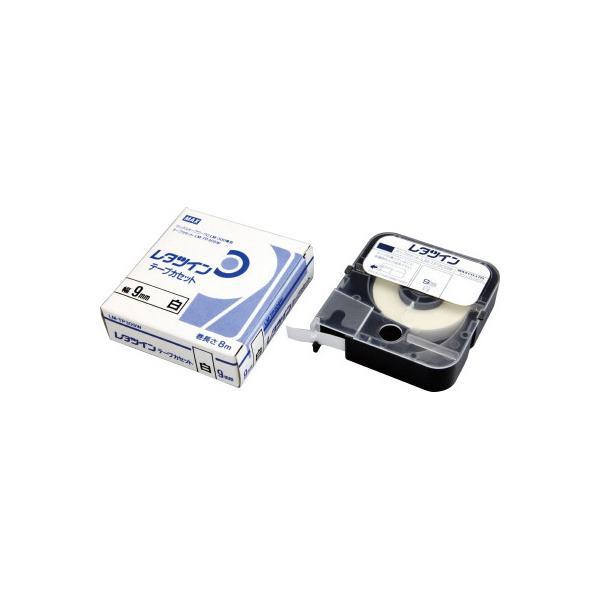 マックス LM-TP309W レタツイン テープカセット 9mm幅 8m巻 LM−TP309W 白