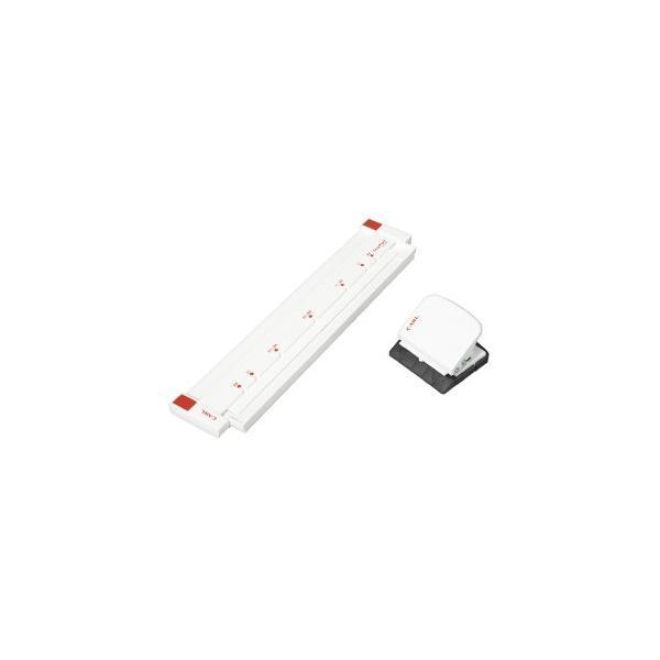 カール ゲージパンチ ホワイト B5 A4 26穴 30穴 GP-2630-W